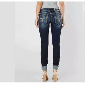 Rock Revival Womens Skinny Bling Jeans NEW